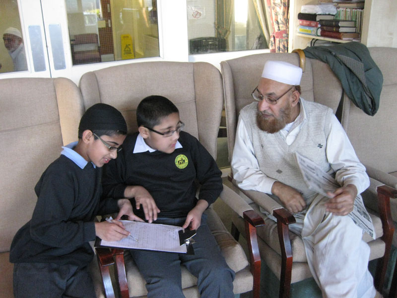 Interviewing School Children
